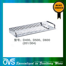 best price stainless steel bathroom corner shelf:D400