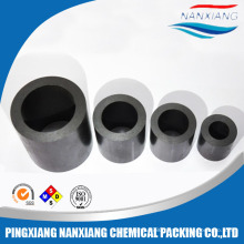 19,25,37,40,50,80,100mm Carbon/Graphite Raschig Ring tower packing