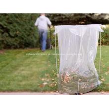 Saco de lixo com forro de lata de plástico transparente para serviços pesados