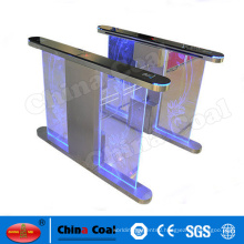 180 Degree Waist Height Bidirection Security Swing Turnstile