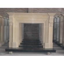 OEM/ODM for Stone Carving Sculpture Carved Natural Stone Fireplace supply to Saudi Arabia Supplier