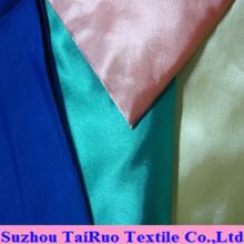 Colores satinados de seda brillante para sábanas