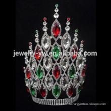 8 Zoll billig hohe Festzug Krone Tiara zum Verkauf für Frauen