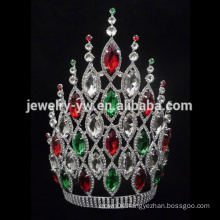 8 inches cheap tall pageant crown tiara for sale for women