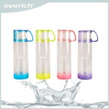 Botella plástica personalizada del infuser del plástico de la fruta del tritan