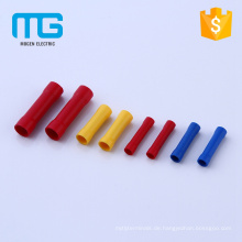 Hot selling copper wire range 0.5-35 Insulated butt connectors