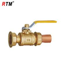Válvula de bola para gas natural