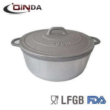 Cuiseur de pot de casserole d'aluminium de fonte pour le marché de l'Afrique
