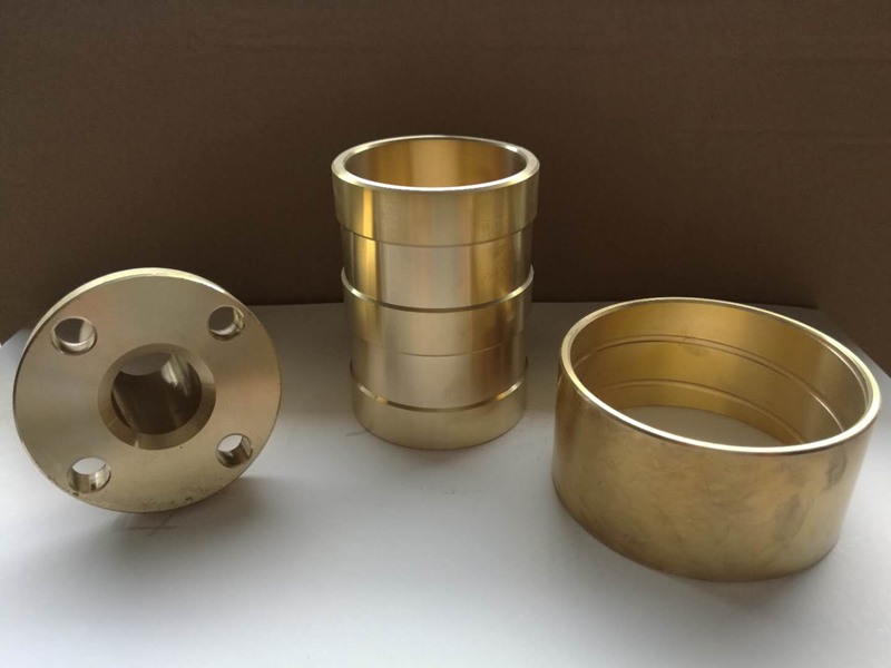 Custom Cnc Machining Flange Brass Bushing Bushes