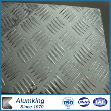 Five Bar Chequered Aluminum/Aluminium Sheet/Plate/Panel for Antiskid Floor