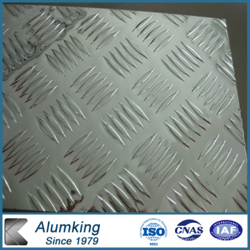 Diamond Checkered Aluminium Plate 5052/5005 for Antiskid Floor