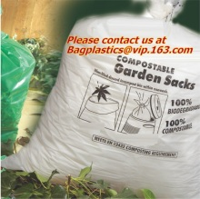 En13432 롤, 100%에 compostable 가방 인증 Compostable 조끼 캐리어 플라스틱 생 분해성 쇼핑 가방 EN13432 Certifi