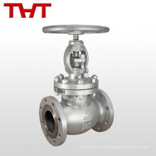 válvula de control de globo de acero al carbono