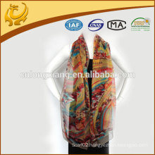 europe style wholesale 100% silk magic scarves