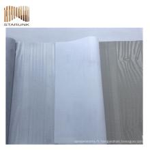 autocollants de porcelaine résistant à la moisissure vinyle tissé revêtement mural à vendre