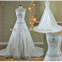 2014 the most populer embroidered bridal wedding New style
