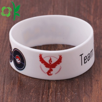 Game Wit Gedrukt Cartoon Armbanden Fashion Silicone Armband