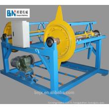 Machine de décolletage hydraulique à double automatique hydraulique de haute qualité / décoiler à bobine d'acier