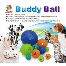Jouet distributeur de friandises durables Percell Large Buddy Ball
