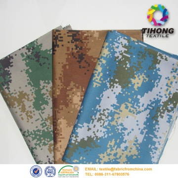 Tissu militaire camouflage sergé de coton