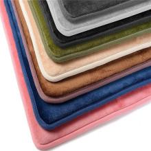 Anti fatiga Mat Microfibra Memory Foam antideslizante Mat