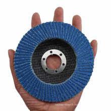 Disque abrasif à fond abrasif en fibre de verre
