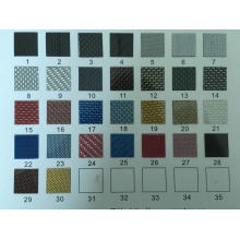 Cadre de plaque d'immatriculation en fibre de carbone sport F coloré
