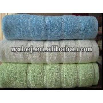 fil de coton zéro torsion blanc hôtel plage serviette de bain
