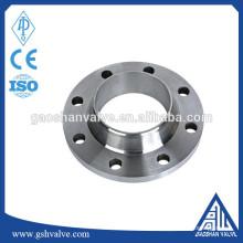 Din 2532 2531 pn6 pn10 aço de carbono solda pescoço flange tubo
