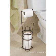 Porte-rouleaux Interdesign Classic pour papier toilette avec support