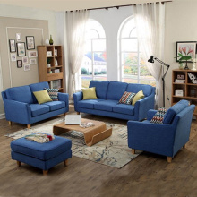 3-Piece Upholstery Sectional Sofa With Ottoman