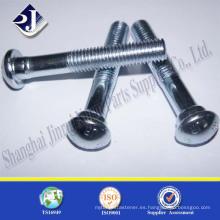 ISO9001 TS16949 pernos de la pista del grado 8.8 plateados del cinc