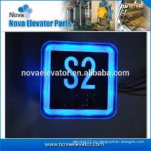 Interruptor de presión del elevador con la luz del LED