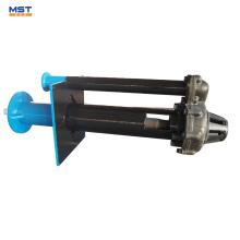 Выровнянный резиной вертикальный выходящий передачи водоотливной насос