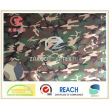 600d Impression de camouflage au désert recouvert de polyuréthane pour utilisation militaire (ZCBP008)