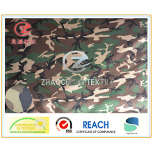 600d Desert Camouflage Printing PU Coated for Military Vest Uses (ZCBP008)