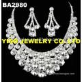 silver wedding jewellry pendant necklace