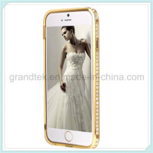 Caso novo pára-choques diamante para iphone 6