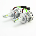 9007 6000lm 6500k White Hi/Lo beam F2 Led head light Automobile parts with CR CSP conversion kits with CE ROHS