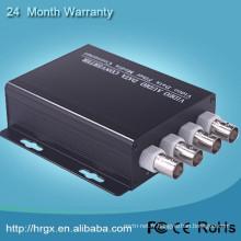 Surveillance de l'émetteur-récepteur Vedio numérique 4/8/16/32 canaux multiplexeur vidéo / voix de connecteur de caméra