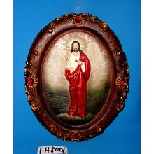 Religious Wall Plaque for Christmas Decoration