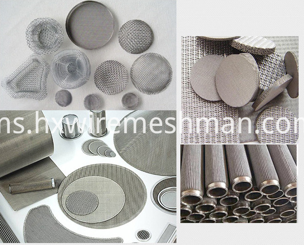 monel wire mesh application