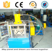 Highway Crash Barrier Guardrail Forming Machine