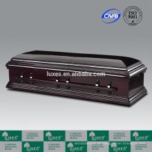 Caixões de cremação LUXES para venda estilo americano Funeral caixão