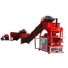 FL2-10 full automatic eco maquinas hydraulic clay soil mud interlocking brick block machine