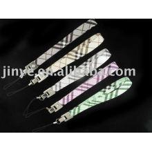 Cordón de cuero con correa de mano de cuero