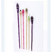 torche japonaise flexible en bambou
