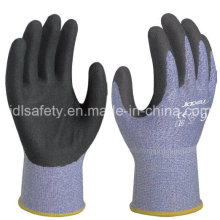 18 Gauge Anti-Cut Work Glove with Sandy Nitrile Coated (K8088-18)