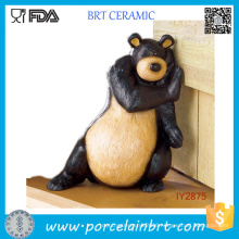 Animal World Bear or Duck Ceramic Door Stopper