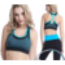 El sujetador de moda atractivo de los deportes del diseñador de la ropa interior inconsútil inconsútil de la nueva grúa atractiva de la llegada para las mujeres